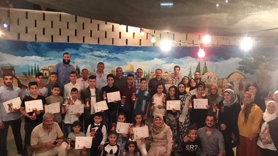 Al Bustan Association Silwan honors Al Bustan Taekwondo Team 2